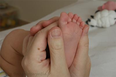 Ateliers parents-enfants massage pour bébé